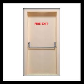 Fire Exit Doors Turkishtradeconsultant